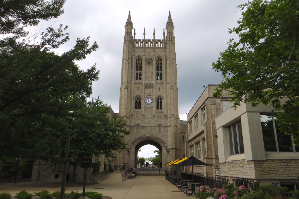 Memorial Union at the University of Missouri