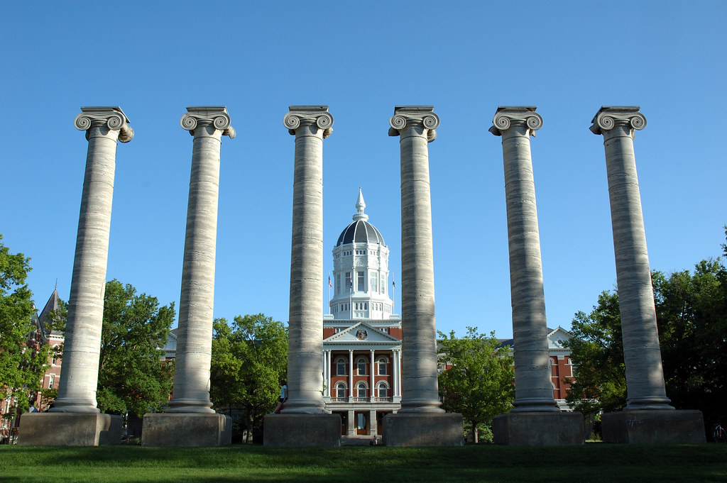 Jesse Hall, University of Missouri, Columbia by Adam Procter