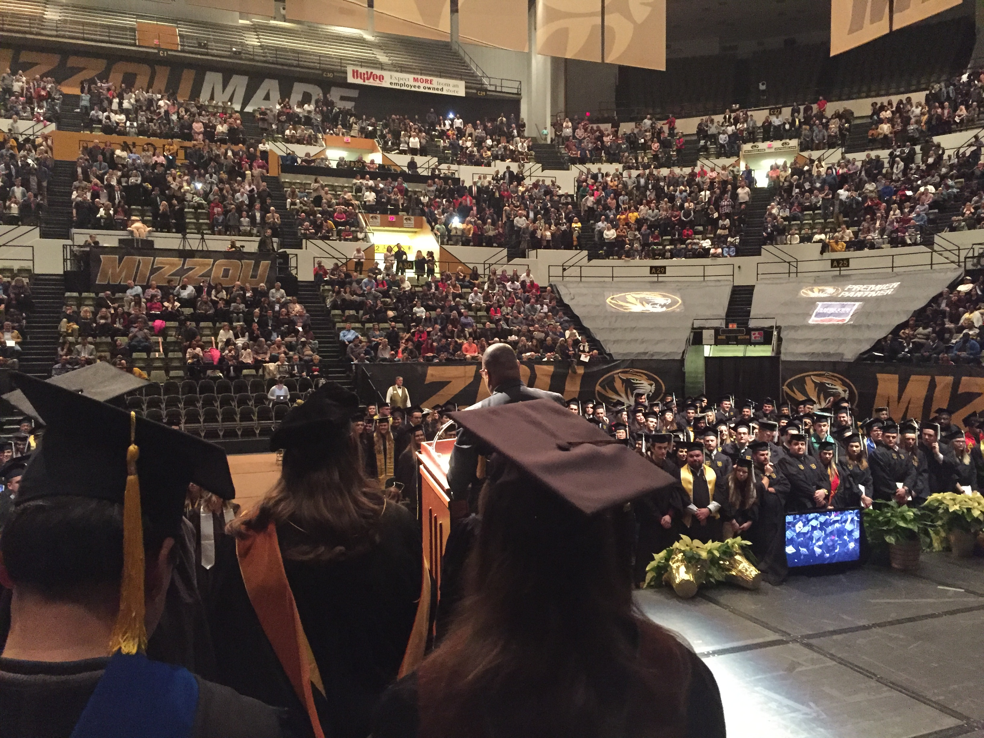Graduation Ceremony at Hearnes Center