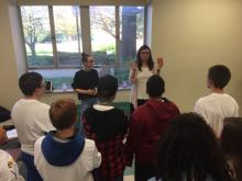 GASP graduate students teach mindfulness