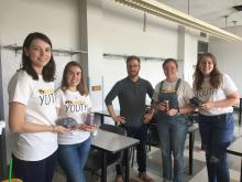 Graduate Students at Mizzou Youth Experience Day